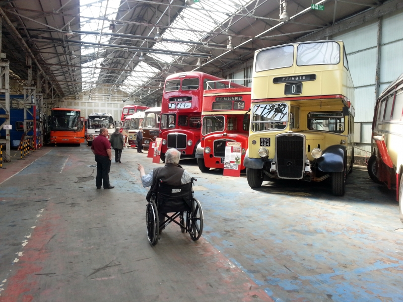 RTHA Visit to Swansea Bus Museum, 2013
