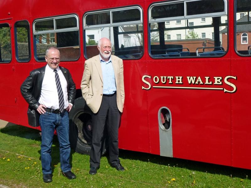 Sir Peter Hendy and Alan Kreppel, 2013