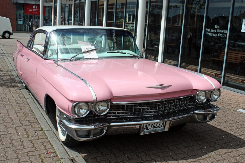 The Pink Caddy was the star of the show