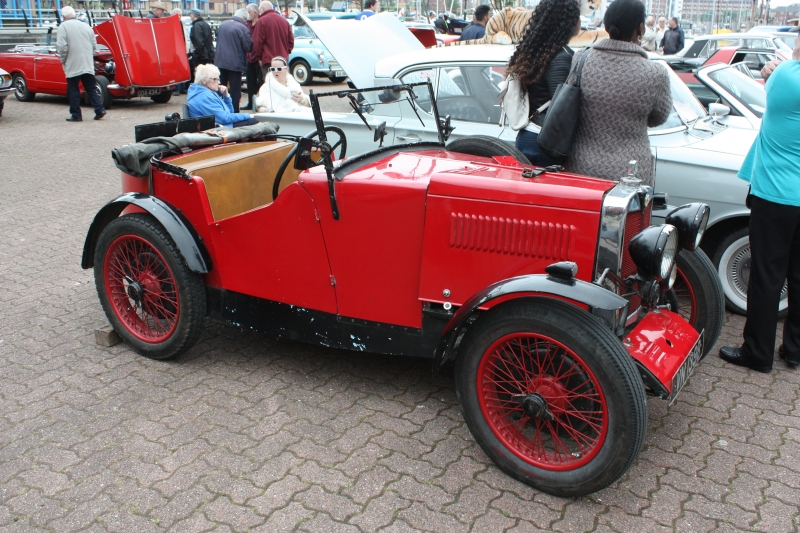 The oldest vehicle at  the show